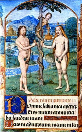 adam eve serpent