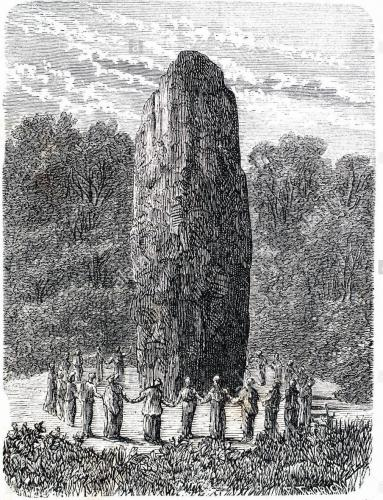 encircle standing stone