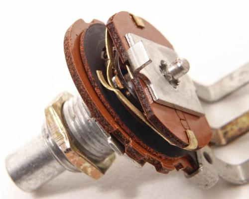 potentiometer inside view