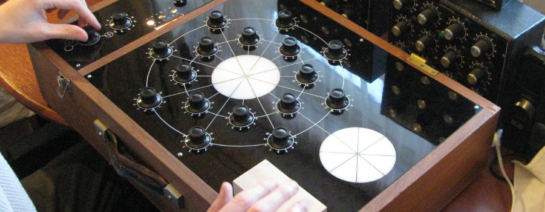 Tansley circular radionic instrument