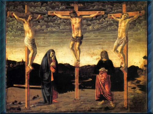 crucifixion two theives